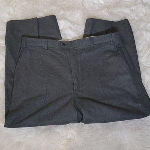 Zanella Flannel Wool Pants Heather Gray 40x28